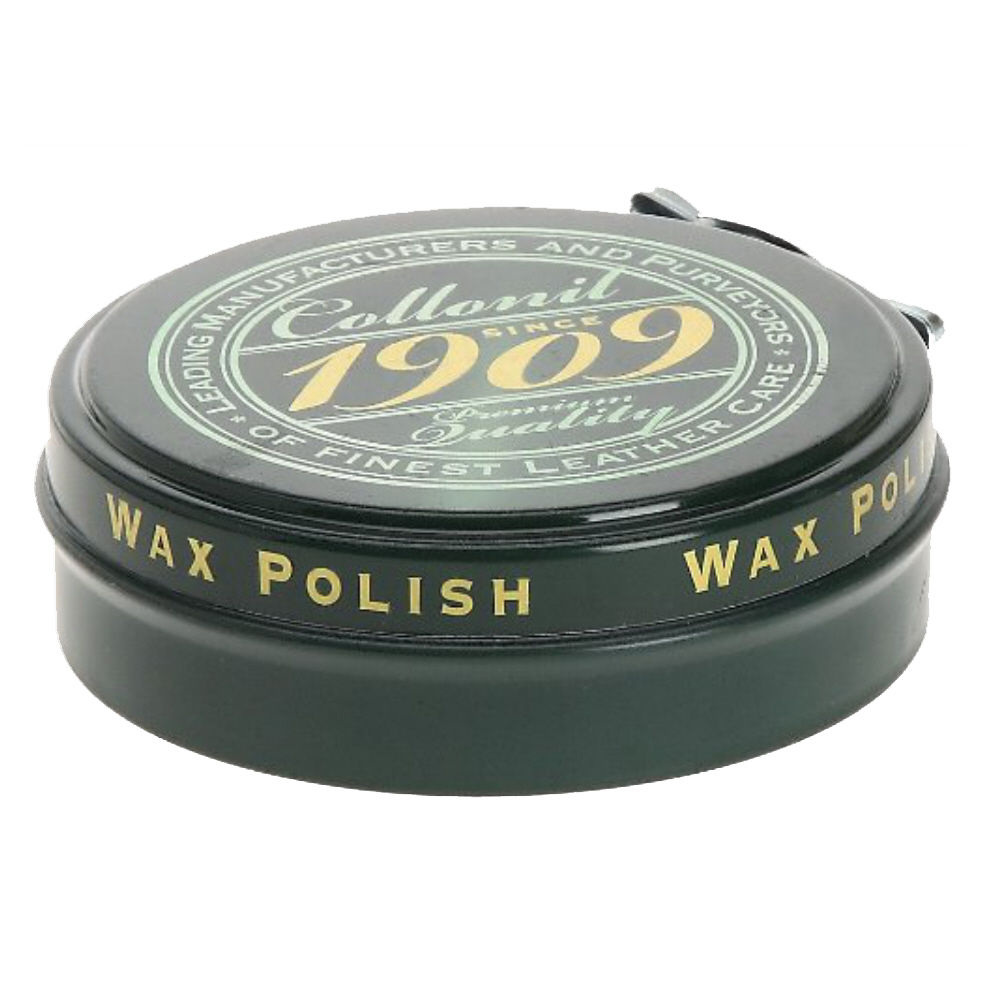collonil 1909 wax tins high gloss leather shoe