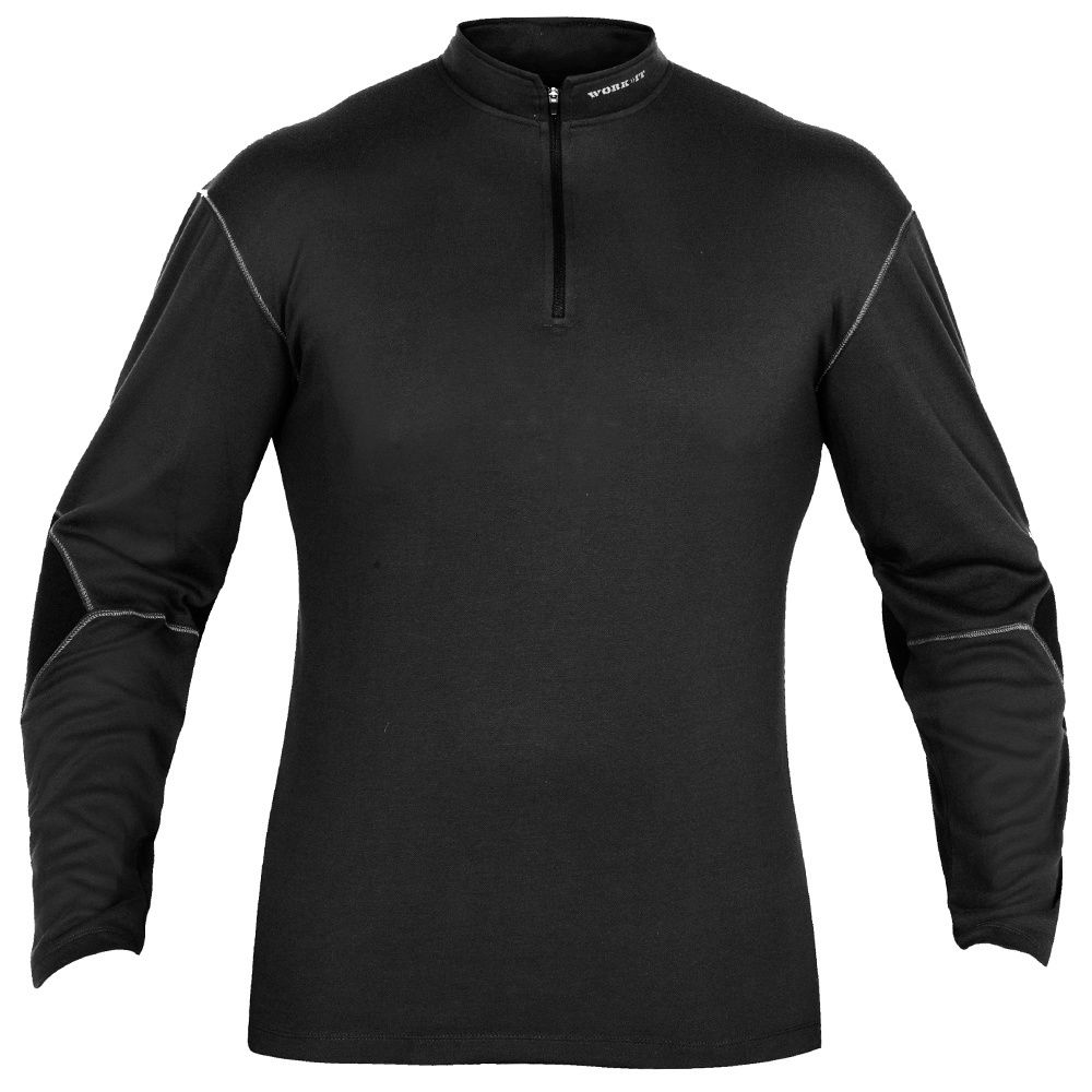 Base Mid Layer Thermal Wicking Shirt Top Long Sleeve Gym