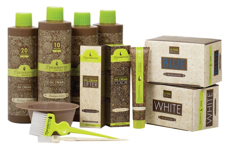 Macadamia Natural Oil Bleaching Powder & Cream Hair Colour ...