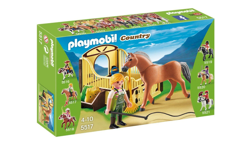 Playmobil 5517 country work horse ebay - Pferde playmobil ...