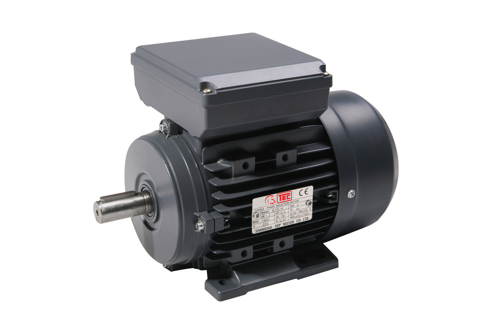 3 7 Kw 5 Hp Single Phase Electric Motor 240v 2800 Rpm 3