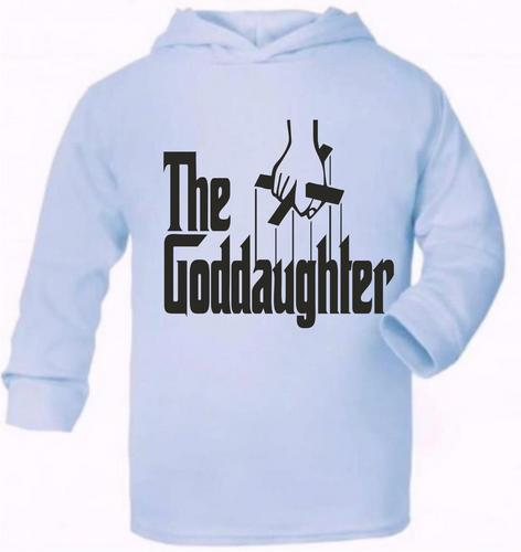 The Goddaughter Cute Present Baby New Born Gift Supersoft Baby Hoodie