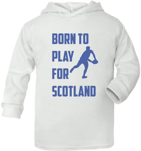 Born To Play For Scotland Rugby Cute Present Baby New Born Gift  Supersoft Baby