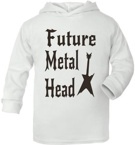 Futuro-Metal-Cabezal-Recien-Nacido-Bebe-Nina-Nino-Capucha-Regalo