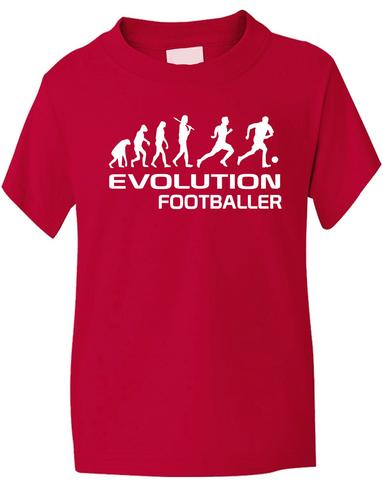 Evolution-Of-A-Jugador-De-Futbol-Nino-Nina-Futbol-Camiseta-Tallas-1-13-Anos