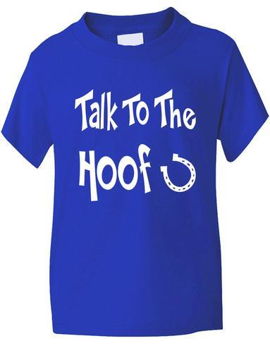 Parler-Pour-Le-Hoof-Enfants-Equitation-T-Shirt-Pony-Tailles-1-13-Ans