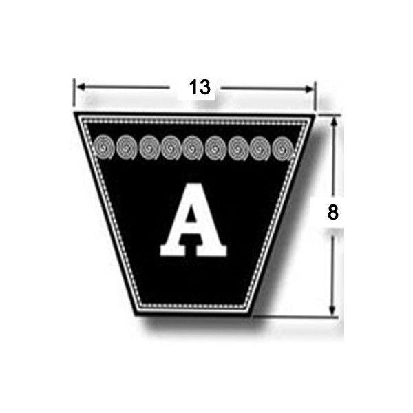 """aka 96/""""  V Belt 13mm X 8mm X 96/"""" A96 A Section Vee Belt 1//2/"""" X 5//16/"""" X 96/"""""""