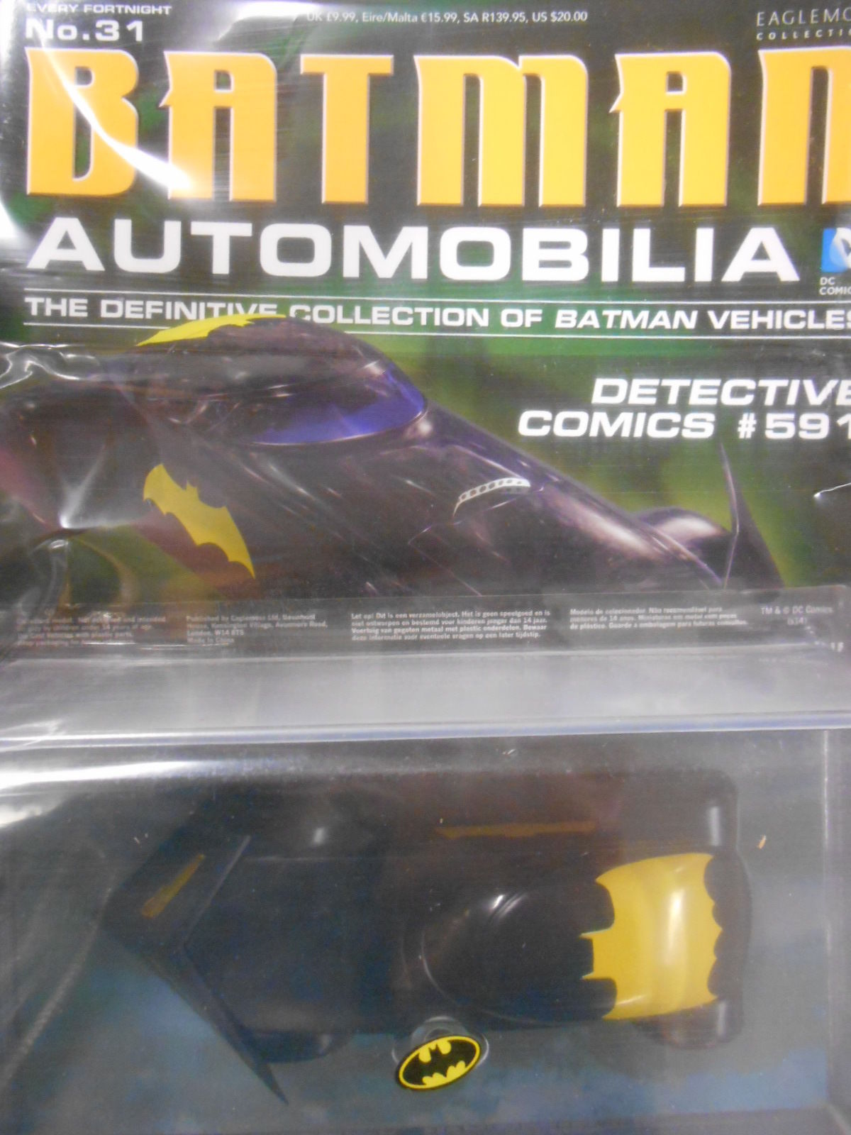 "eaglemoss Batman automobilia collection #32 /""l.o.t.d.k #64/"""