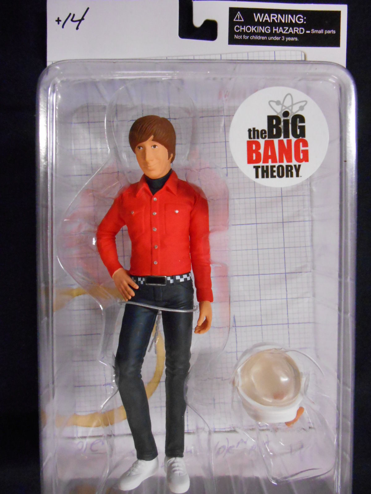 """NUOVO THE Big Bang Theory /""""Howard Wolowitz/"""" 6/"""" Action Figure SD TOYS"""