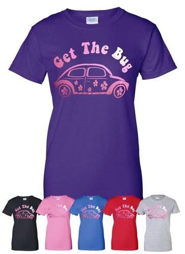 VW-Beetle-Love-Bug-Camping-Mens-Ladies-T-Shirt-Gift-Size-S-XXL