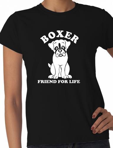 Boxer-Dog-Lover-Pet-Ladies-T-Shirt-Gift-Size-S-XXL