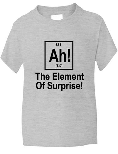 Element of surprise nerd geek periodic table boys girls t shirt ye picture 2 of 2 urtaz Images